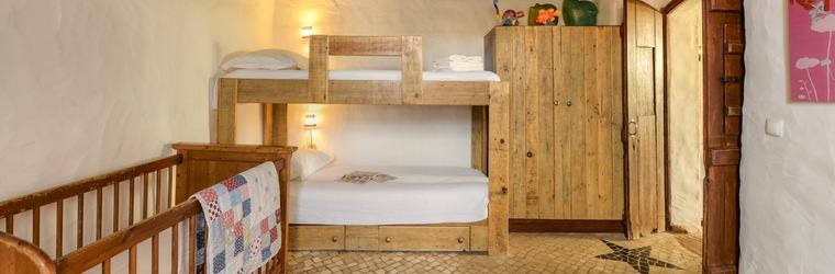 Slaapkamer met vide