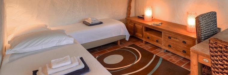 Slaapkamer zwembad airconditioning
