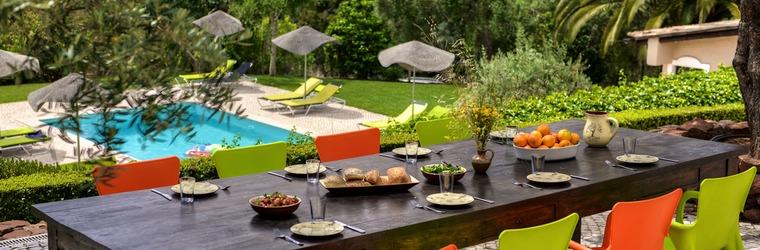 Terrassen vakantievilla Algarve Portugal