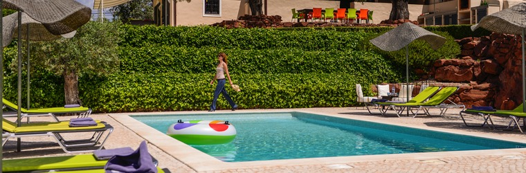 Zwembad vakantievilla Algarve Portugal